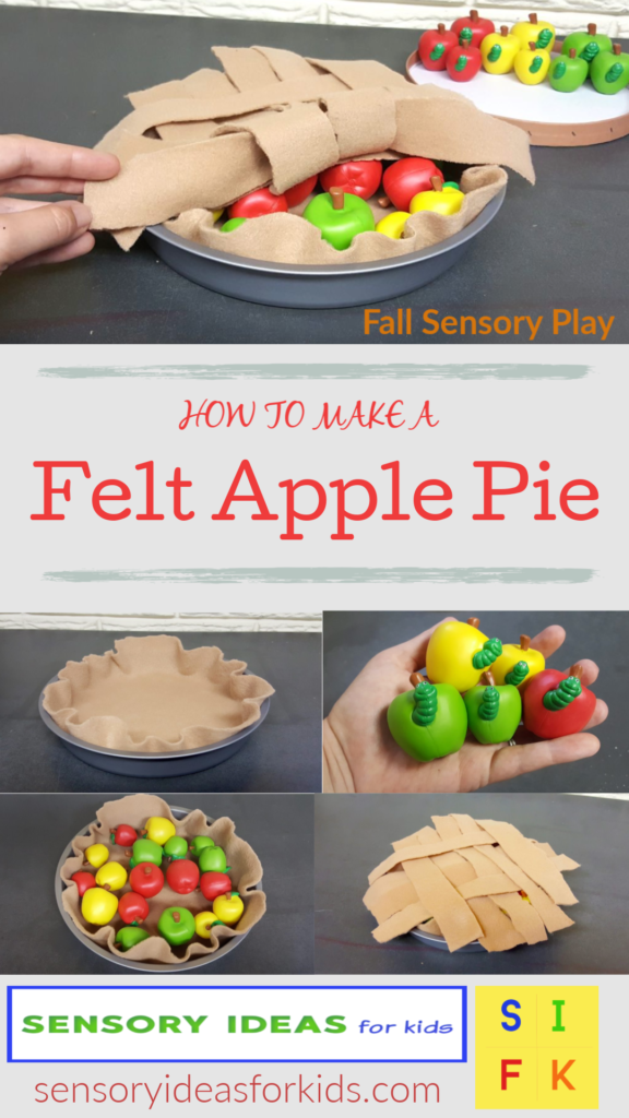 preschool apple play sensory activity