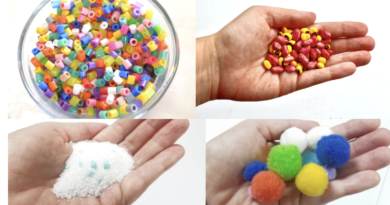 colorful sensory bin ideas